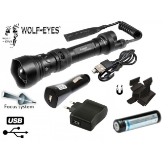 Wolf-Eyes Ranger XP-L HI V2 - Full Set + magnet